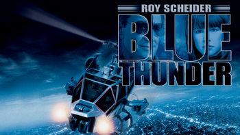 Netflix box art for Blue Thunder