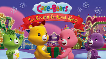 Netflix box art for Care Bears: The Giving Festival
