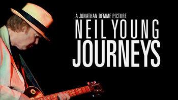 Netflix box art for Neil Young Journeys