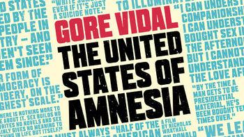 Netflix box art for Gore Vidal: The United States of Amnesia