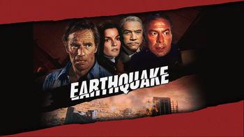 Netflix box art for Earthquake