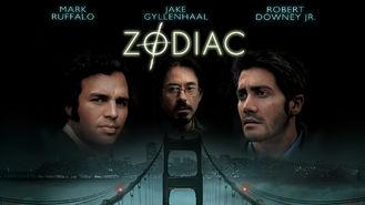 Netflix box art for Zodiac