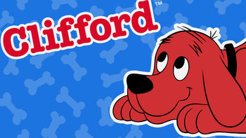 Netflix box art for Clifford the Big Red Dog - Season 1