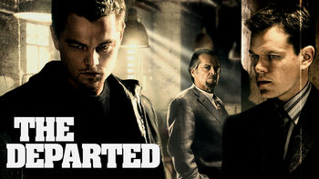 Netflix box art for The Departed
