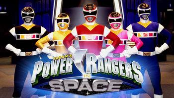 Netflix Box Art for Power Rangers in Space - Season 1