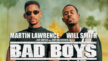 Netflix box art for Bad Boys