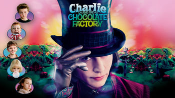 Netflix box art for Charlie and the Chocolate Factory