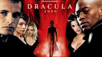 Netflix box art for Dracula 2000