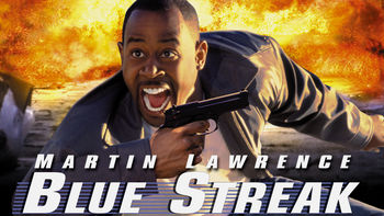 Netflix box art for Blue Streak