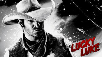 Netflix box art for Lucky Luke