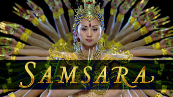 Netflix box art for Samsara