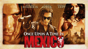 Netflix box art for Once Upon a Time in Mexico