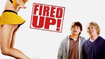 Netflix box art for Fired Up!