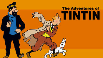 Netflix box art for The Adventures of Tintin - Season 1