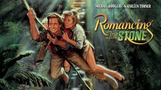 Netflix box art for Romancing the Stone