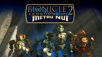 Netflix box art for Bionicle 2: Legends of Metru Nui
