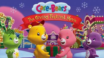 Netflix box art for Care Bears: The Giving Festival