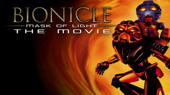 Netflix box art for Bionicle: Mask of Light: The Movie
