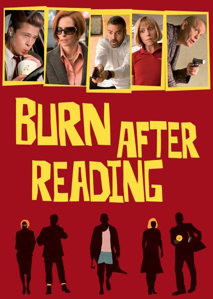 Burn After Reading Netflix AU (Australia)