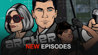 Netflix box art for Archer - Season 6