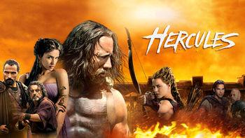 Netflix box art for Hercules