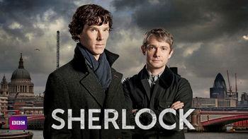 Netflix box art for Sherlock - Series 1