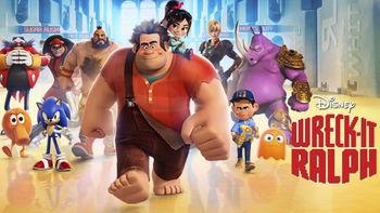 Netflix box art for Wreck-It Ralph