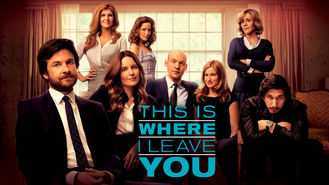 Netflix box art for This Is Where I Leave You