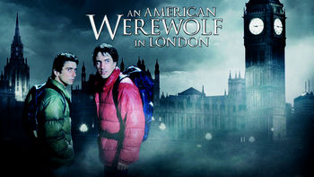 Netflix box art for An American Werewolf in London