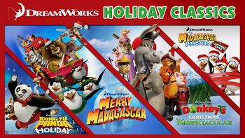 Netflix box art for DreamWorks Holiday Classics - Season 1