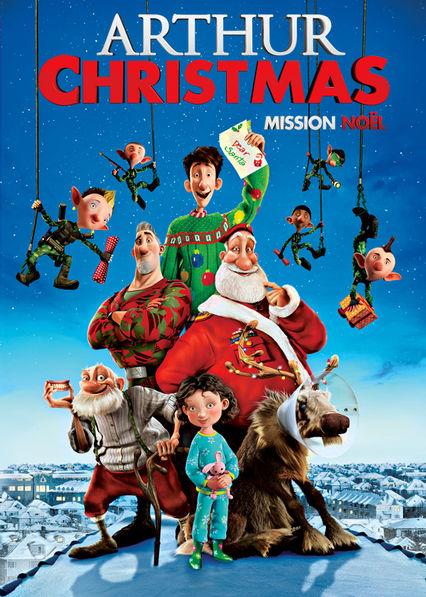 Arthur Christmas Netflix BR (Brazil)