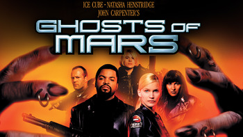Netflix box art for Ghosts of Mars