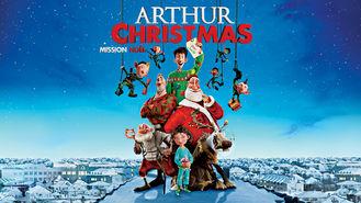 Netflix box art for Arthur Christmas