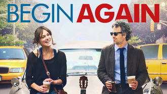 Netflix box art for Begin Again