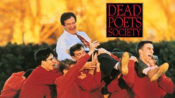 Netflix box art for Dead Poets Society