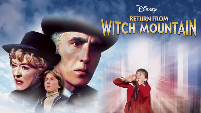 Netflix box art for Return from Witch Mountain
