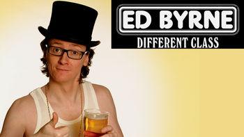 Netflix box art for Ed Byrne: Different Class