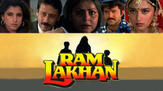 Netflix box art for Ram Lakhan