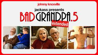 Netflix box art for Bad Grandpa .5
