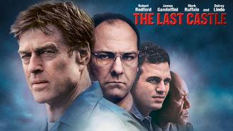 Netflix box art for The Last Castle