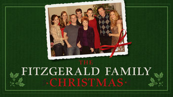 Netflix box art for The Fitzgerald Family Christmas