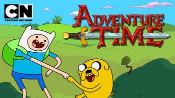 Netflix box art for Adventure Time - Season 1