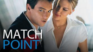Netflix box art for Match Point