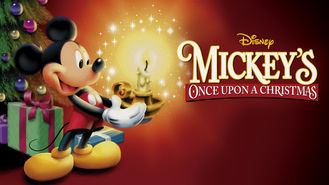Netflix box art for Mickey's Once Upon a Christmas