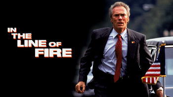 Netflix box art for In the Line of Fire