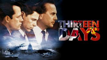 Netflix box art for Thirteen Days