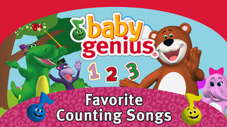 Netflix box art for Baby Genius: Favorite Counting Songs