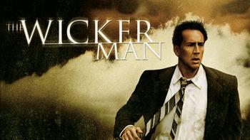 Netflix box art for The Wicker Man