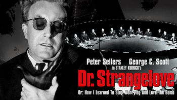 Netflix box art for Dr. Strangelove