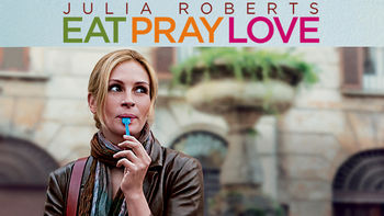 Netflix box art for Eat Pray Love